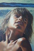 All Summer Long 1979 26x36 Original Painting by Jim Warren - 2