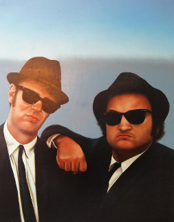 Blues Brothers 1986 26x32 Original Painting - Jim Warren
