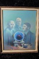 Proteus Operation 1985 24x20 Original Painting by Jim Warren - 1