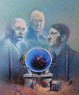 Proteus Operation 1985 24x20 Original Painting by Jim Warren - 0