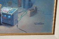 Proteus Operation 1985 24x20 Original Painting by Jim Warren - 2