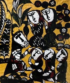 Sermon in the Mount 1963 Limited Edition Print by Sadao Watanabe