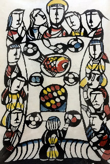 Last Supper 1987 Limited Edition Print - Sadao Watanabe