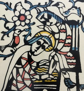 Washing the Disciple's Feet 1972 Limited Edition Print - Sadao Watanabe