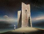 Sea Wall 25x30 Original Painting - Robert Watson