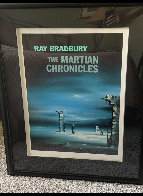Martian Chronicles HS by Artist and Bradbury Limited Edition Print by Robert Watson - 1