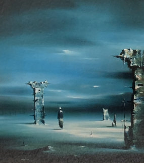 Martian Chronicles HS by Artist and Bradbury Limited Edition Print by Robert Watson