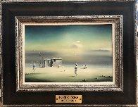 Morning Dream 1971 14x18 Original Painting by Robert Watson - 1