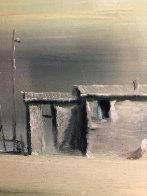 Morning Dream 1971 14x18 Original Painting by Robert Watson - 2
