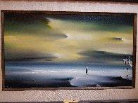 Yellow Morning 22x32 Original Painting by Robert Watson - 1