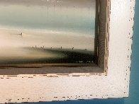 Lighthouse 1972 21x36 Original Painting by Robert Watson - 5