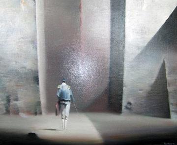 Matador 1979 28x32 Original Painting - Robert Watson