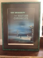 Martian Chronicles signed by Ray Bradbury AP Limited Edition Print by Robert Watson - 1