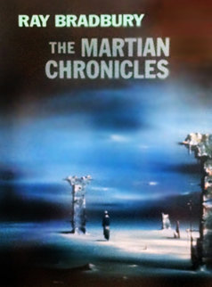 Martian Chronicles signed by Ray Bradbury AP Limited Edition Print by Robert Watson