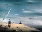 Untitled Painting 20x16 Original Painting - Robert Watson