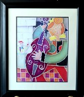 Purple Bass Jazz 2007 Limited Edition Print by Eric Waugh - 2