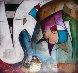 Xeno 16x16 Original Painting by Eric Waugh - 0