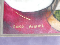 Xeno 16x16 Original Painting by Eric Waugh - 3