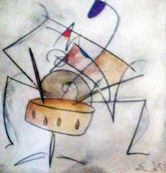 Untitled Abstract 2003 26x26 Original Painting by Eric Waugh