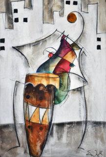 Solo MVI #5 44x32 Original Painting - Eric Waugh