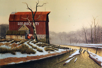 Will Creek 1979 Limited Edition Print by Wayne Cooper
