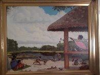 Family Memories 24x30 Original Painting by Wayne Cooper - 1