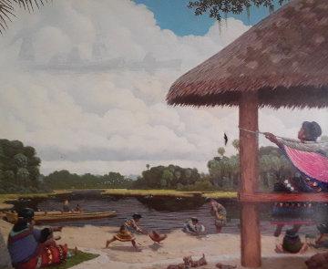 Family Memories 24x30 Original Painting by Wayne Cooper