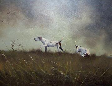 Honoring the Point 1970 44x44 Original Painting - Wayne Cooper