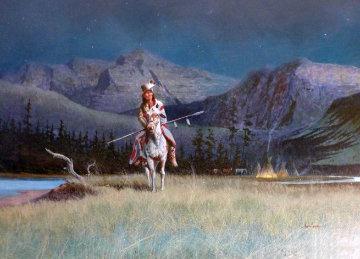 Night Watch 29x40 Original Painting - Wayne Cooper