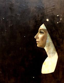 Nun 1964 20x16 Original Painting - Wade Reynolds
