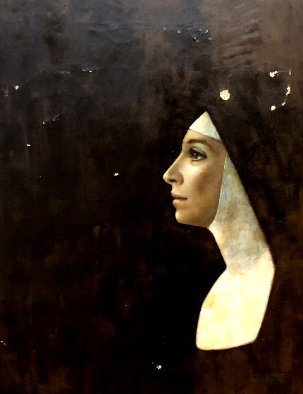 Nun 1964 20x16 Original Painting by Wade Reynolds