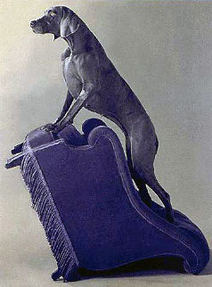 Armed Chair Limited Edition Print - William Wegman