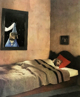 Cinderella Portfolio: In Bed 1994 Limited Edition Print - William Wegman