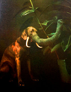 Elephant 1988 Limited Edition Print - William Wegman