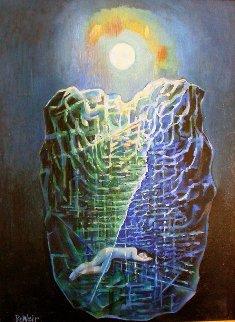 Paxil 2003 23x28 Original Painting - Roberta Weir