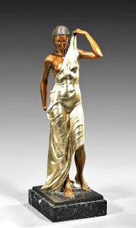 Aphrodite Bronze Sculpture 1990 25 in  Sculpture by Felix de Weldon