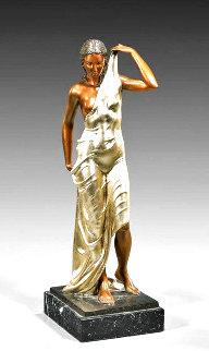 Aphrodite Bronze Sculpture  1990 24 in Sculpture - Felix de Weldon