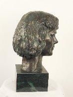 Young Woman Bronze Life Size Sculpture 1982 12 in  Sculpture by Felix de Weldon - 1