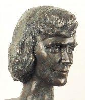 Young Woman Bronze Life Size Sculpture 1982 12 in  Sculpture by Felix de Weldon - 0