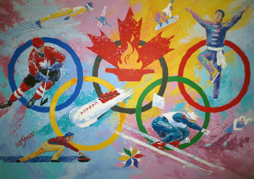 Just Having Fun 60x64 Super Huge Original Painting - Ken Wesman