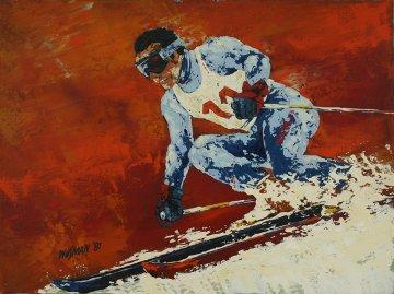 Hill Killer 18x24 Original Painting - Ken Wesman