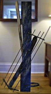 Elegy Steel Sculpture Sculpture - Joseph Wesner