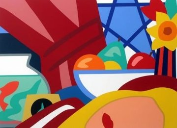 Still Life With Bouquet 1999 Limited Edition Print by Tom Wesselmann