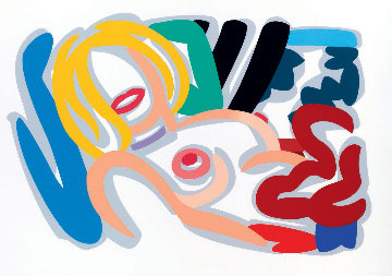Big Blonde With Choker 1992 Limited Edition Print by Tom Wesselmann