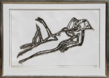 Monica Lying Down One Arm Up 1990 Limited Edition Print by Tom Wesselmann