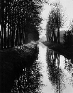 Holland Canal Photography by Brett Weston