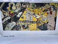 Untitled Diptych 2010 96x48 Super Huge Mural Original Painting by Randy Lee White - 1