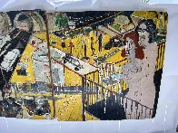 Untitled Diptych 2010 96x48  Huge Mural Original Painting by Randy Lee White - 4