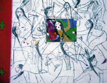 Just Dancing 1981 44x36 Original Painting by Randy Lee White