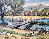 Saddle River Limited Edition Print by Edgar A Whitney - 0